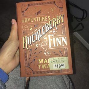 Huckleberry hard back book